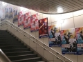 Reklamní panely na stanici Kokusaitenjijou u Tokyo Big Sight