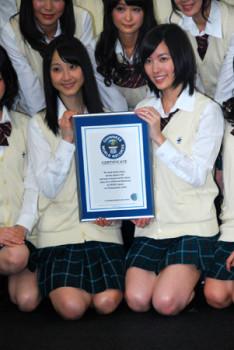 SKE48 se dostalo do Guinnessovy knihy rekordů