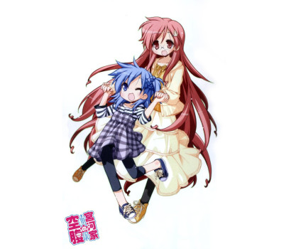 Anime pro spin-off mangu k Lucky Star