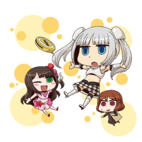 Miss Monochrome-san