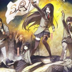 """Novela """"Nudný svět, kde neexistují oplzlé vtipy"""" dostane anime"""