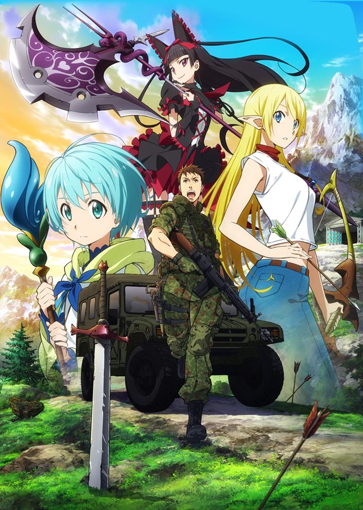 Gate+Anime+Adaptation