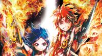 V letošním 43. vydání časopisu Shuukan Shounen Sunday společnosti Shogakukan bylo oznámeno, že v manze Magi skončila třináctá příběhová část, jenž byla zaměřená na království Kou. V dalším vydání časopisu, […]