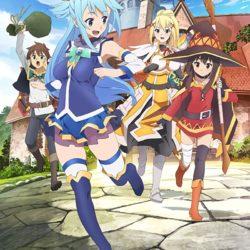 Pokračování série Kono Subarashii Sekai ni Shukufuku o! potvrzeno
