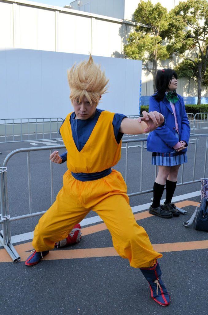 A co teprve Goku z Dragon Ballu, to je životní srdcovka.