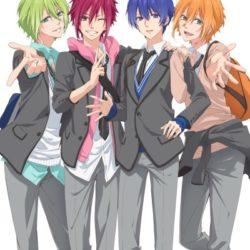 Anime plné mužských idolů se představuje