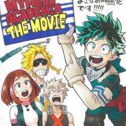 Nový film pro Boku no Hero Academia